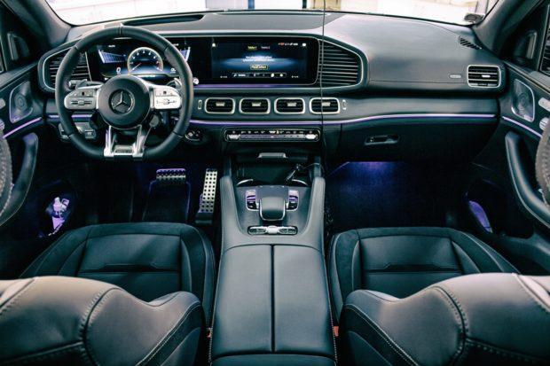 03: Čištění interiéru aut - Mercedes