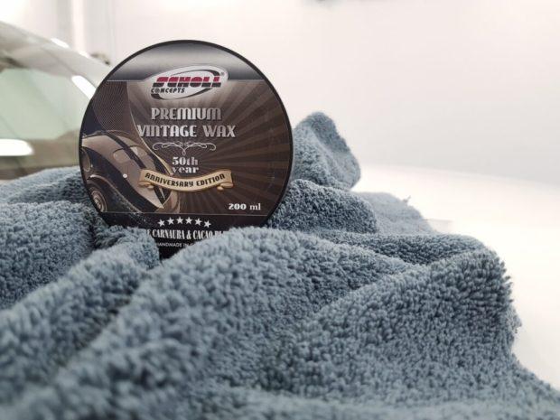 02: Kvalitní vosk na auto