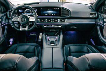 Čištění interiéru aut - Mercedes