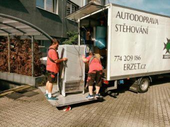 Hledáme do našeho týmu - ŘIDIČE (stěhovacího vozu)