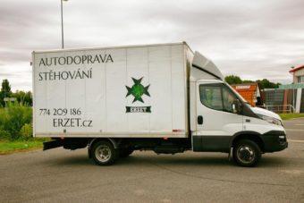Stěhování Praha 2